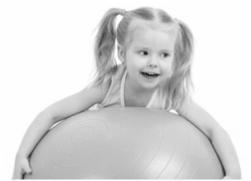 Helfi 24 Hour Kids Gym yoga ball