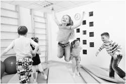 Helfi 24 Hour Kids Gym jump