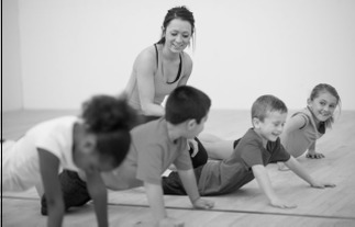 Helfi 24 Hour Kids Gym stretch